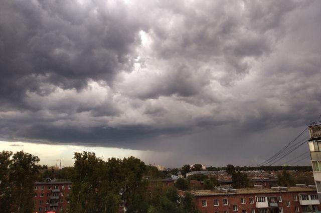 Местами по области возможны дожди.