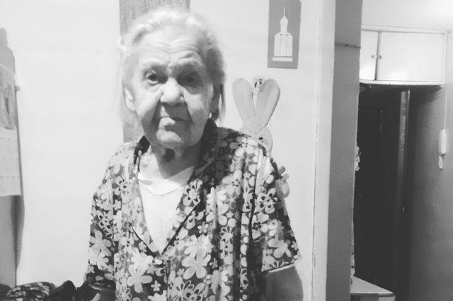 Жизнь бабы Даши закончилась в полном одиночестве.
