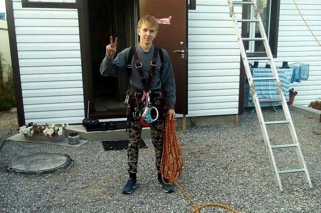 Арсений Артеев во время работы