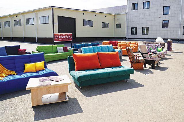 Мягкая мебель из Туймазов популярна в России и странах СНГ.