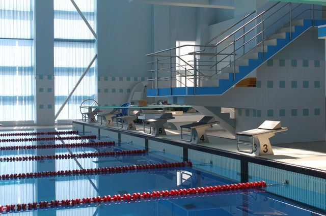 ЧП произошло в бассейне фитнес-клуба на Ярослава Гашека.
