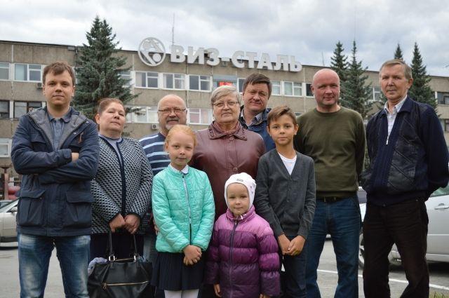 В семье Кабалиных – Щипановых преемственность трудовых традиций передаётся от поколения к поколению