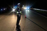 Ночью движение на трассе возле Дрокинской горы было частично ограничено.