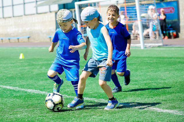 В Краснослободск пришёл большой футбол.