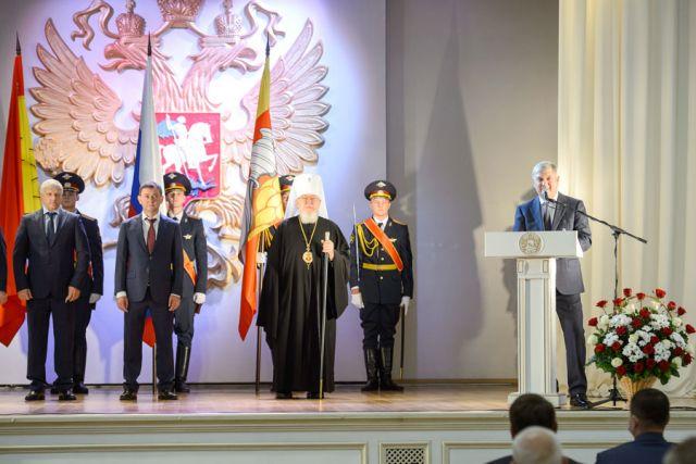 Александр Гусев поблагодарил горожан за искреннюю заботу о Воронеже.