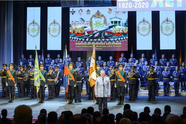Празднование юбилея завершилось большим концертом.