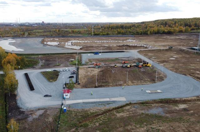 Полигон будет размещен в 2 км западнее Кемерова.