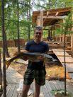 Вооот такую щуку весом 7,2 кг поймал на спиннинг Виктор Дроков на Малом Море.