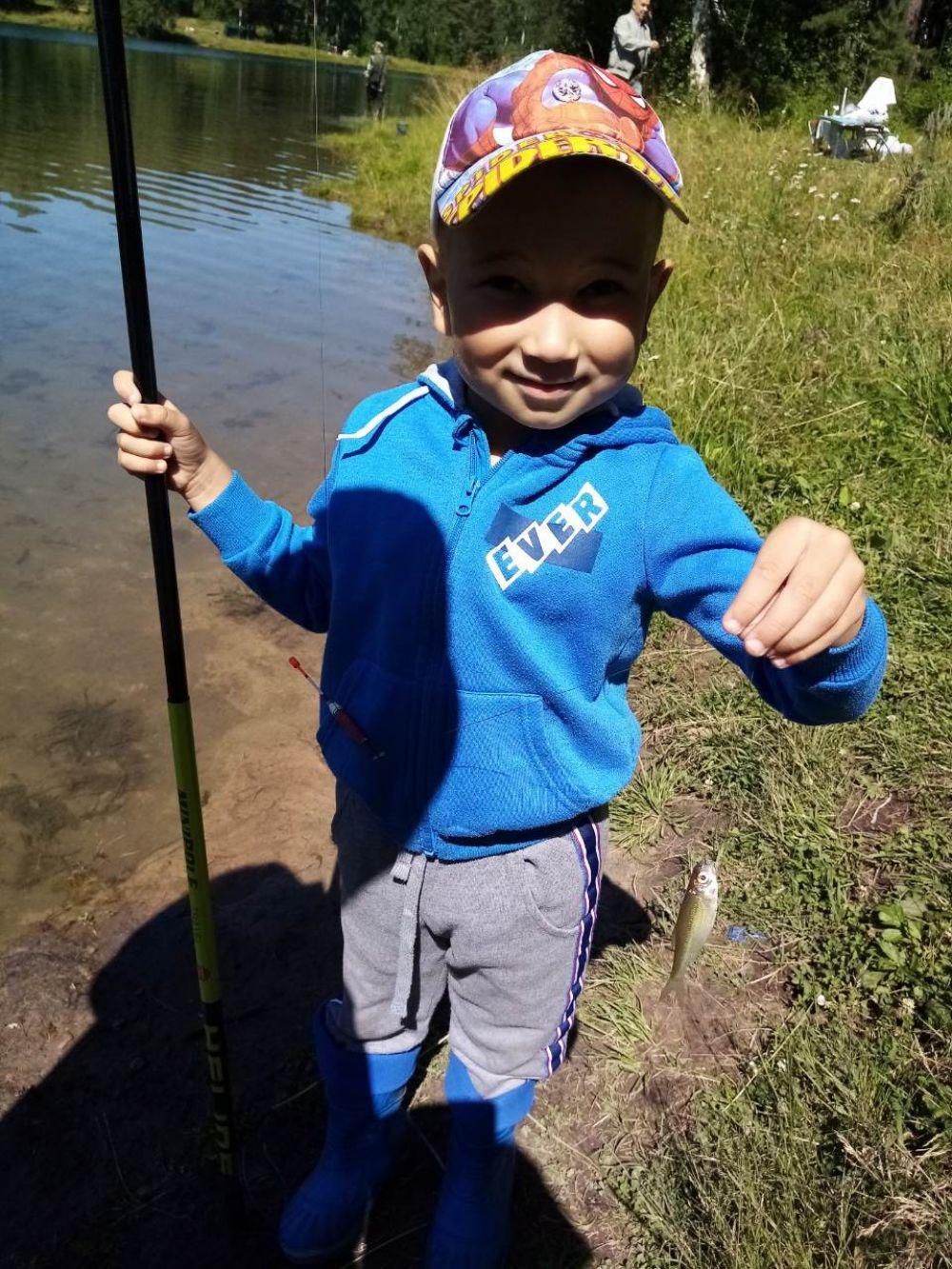 Андрей Дьяченко. Начинающий рыбак.