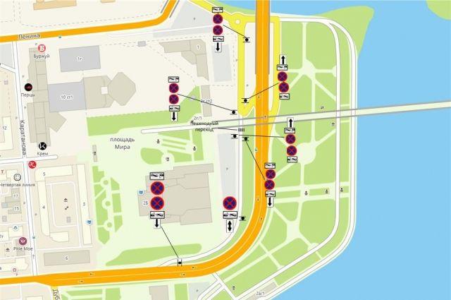 Оставлять автомобили в этом районе можно будет только на организованных парковках и стоянках.