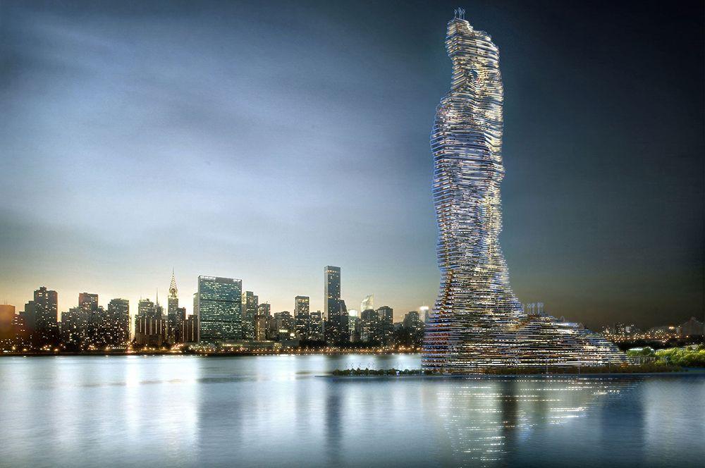 Здание высотой 737 метра может стать самым высоким зданием в Нью-Йорке.
