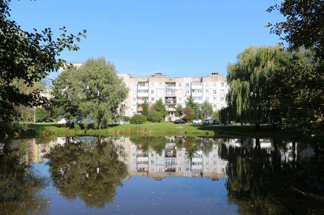 В Чкаловске начали благоустраивать территорию вокруг реки Голубой