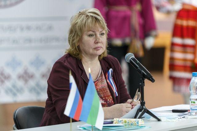 Галина Габушева отказалась от депутатского мандата.
