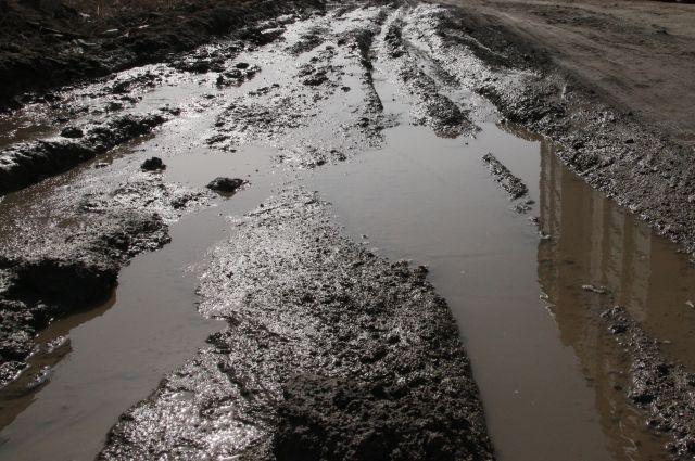 В подвозе непосредственно из деревни было отказано из-за неудовлетворительного состояния дороги.