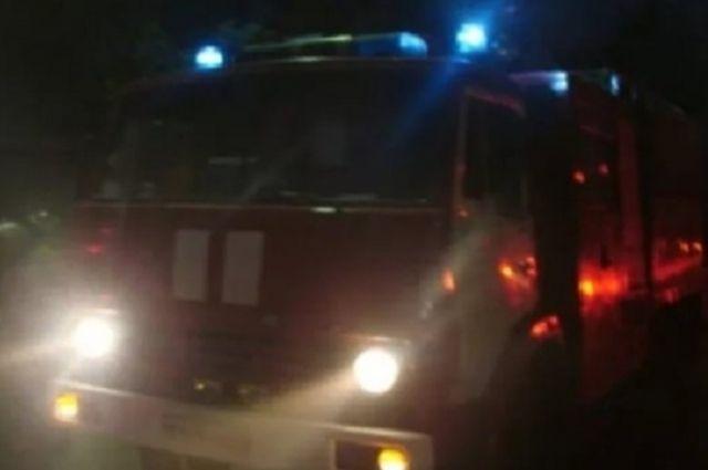 Ночью в Калининграде произошел пожар в многоэтажке
