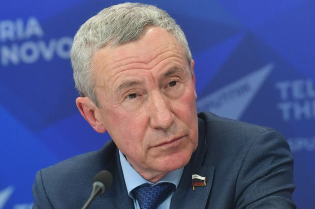 Сенатор Андрей Климов.