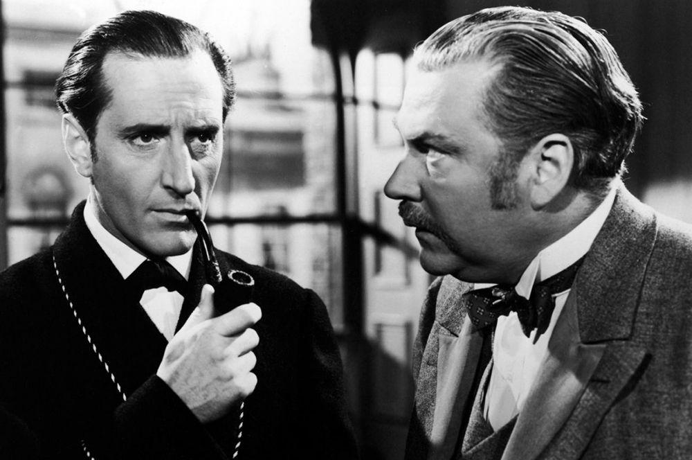 Бэзил Рэтбоун — «Приключения Шерлока Холмса» (1939).