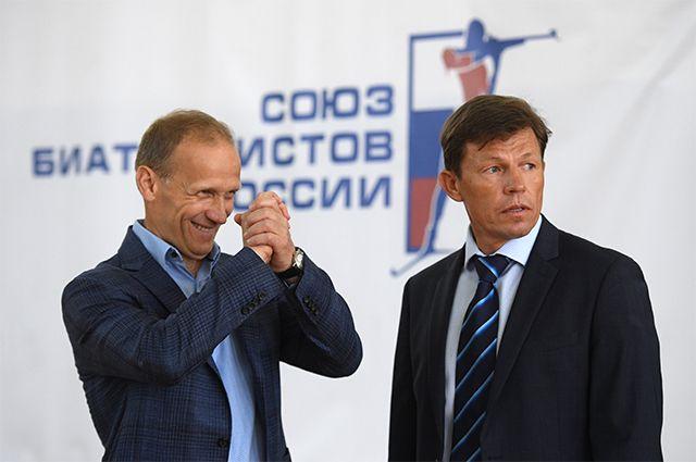 Владимир Драчёв и Виктор Майгуров.