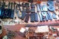 В Херсонской области в доме местного жителя нашли тайник боеприпасов.
