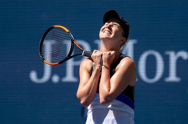Элина Свитолина вышла в полуфинал турнира в Страсбурге.