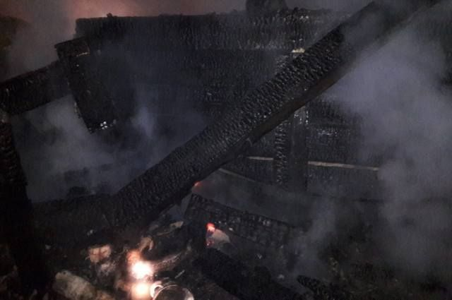 51-летний мужчина погиб при пожаре в садовом доме в Башкирии
