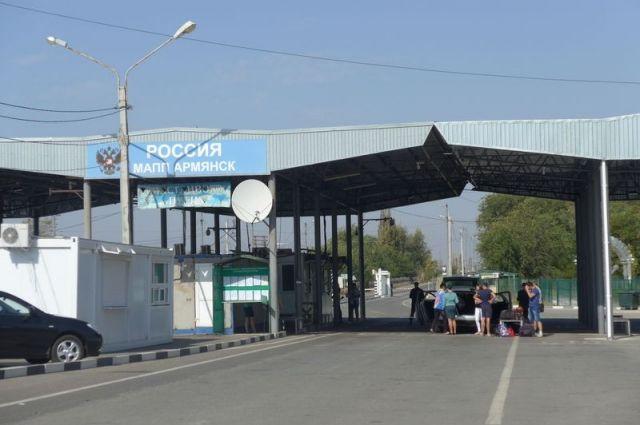 Более 60 тысяч человек пересекли границу Крыма с Украиной этим летом