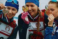 Виктория Сливко завоевала золото на чемпионате России