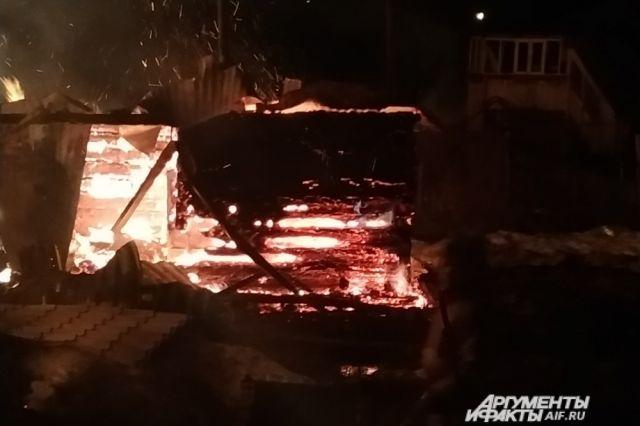 187 пожаров произошло на дачах в Пермском крае в 2020 году.