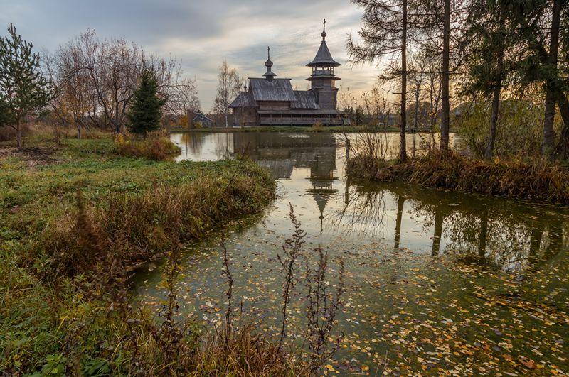 Церковь Благовещения. Московская область, Сергиево-Посадский район.