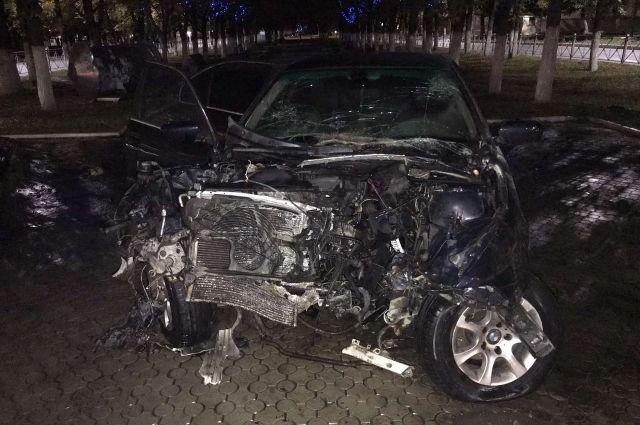 Водитель отказался пройти тест на алкоголь.