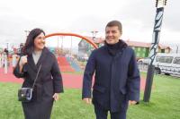 Губернатор Дмитрий Артюхов оценил развитие Лабытнанги