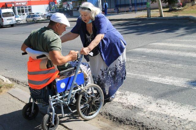 Доступная среда в Оренбурге иногда - всего лишь название проекта.