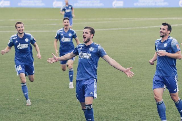 ФК «Оренбург» упустил победу над «Балтикой» с итогом игры 2:2.