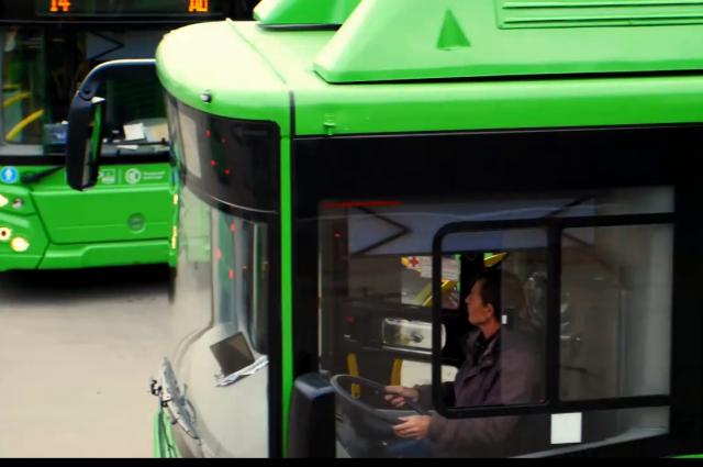 В Тюмень прибыли 60 новых автобусов
