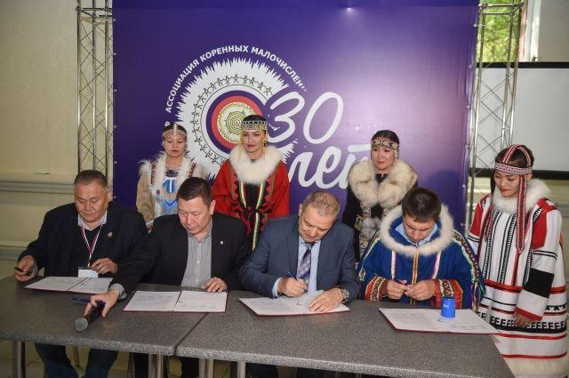 «Норникель» подписал соглашения о сотрудничестве с организациями, которые представляют интересы коренных малочисленных народов Севера.
