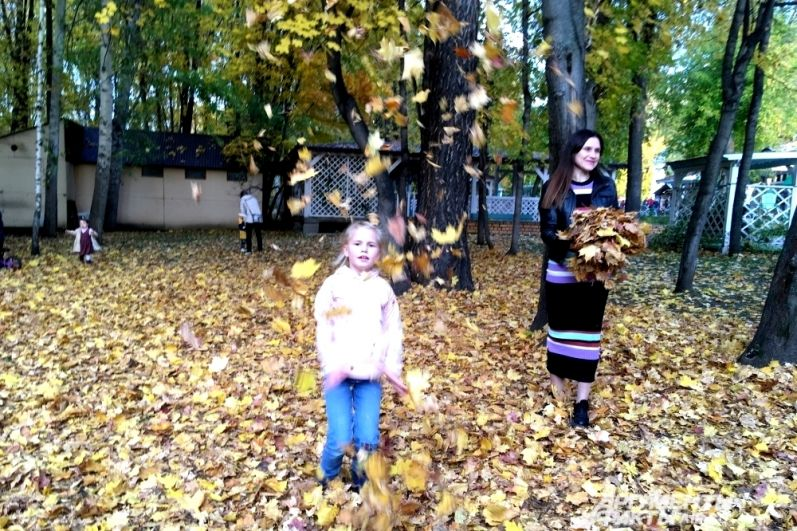 Золотая осень в Перми.
