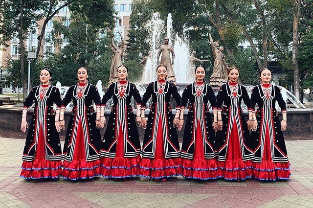 Танец «Семь девушек» стал визитной карточкой ансамбля им. Ф.Гаскарова.