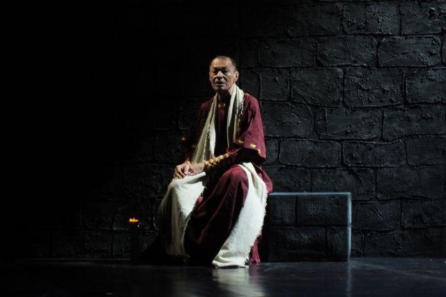Александр Славский в образе Понтия Пилата.
