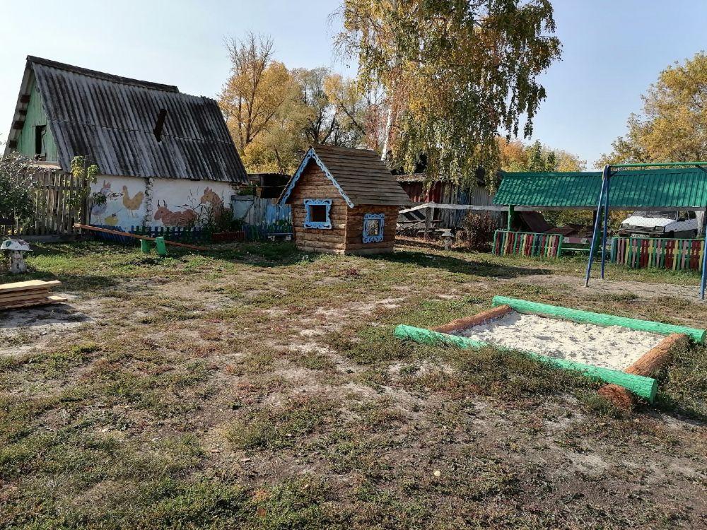 Игровая площадка детского сада в с. Спасское.