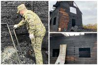 Следователи устанавливают обстоятельства гибели ребенка при пожаре в Тюмени
