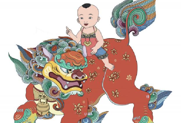 Все изображения в книге «Легенде о фениксе» созданы по традиционным китайским мотивам.