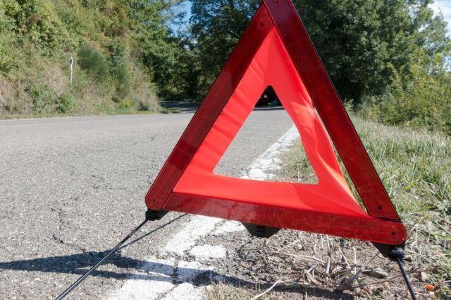 На тюменской трассе погиб водитель, уходивший от столкновения