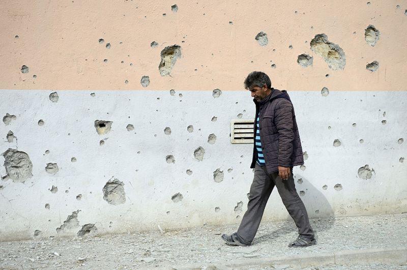 Тертер - одна из основных точек, вокруг которых идут бои в Карабахе, до линии соприкосновения всего несколько километров.