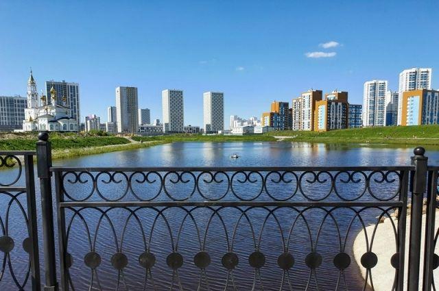 Академический — один из самых зеленых районов Екатеринбурга.