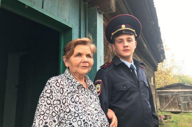 Надежда Минакова очень благодарна полицейским.