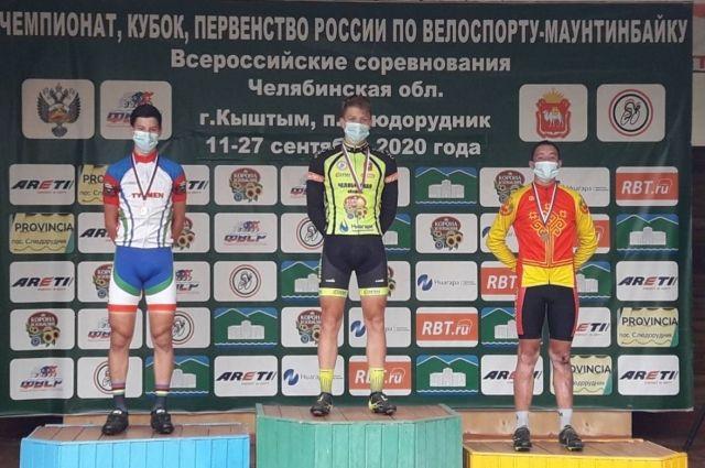 Велосипедист из Тюмени пришел вторым на Первенстве России по маунтинбайку