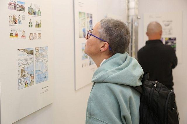 Выставка работ участников конкурса «Ямальский комикс»