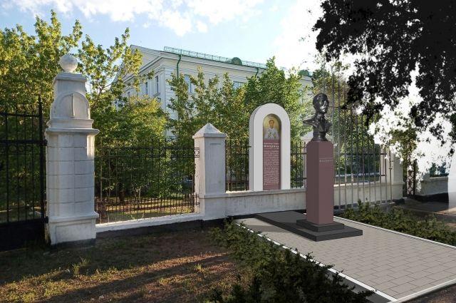 В Оренбурге торжественно открыли бюст герою-антифашисту Александру Шморелю.