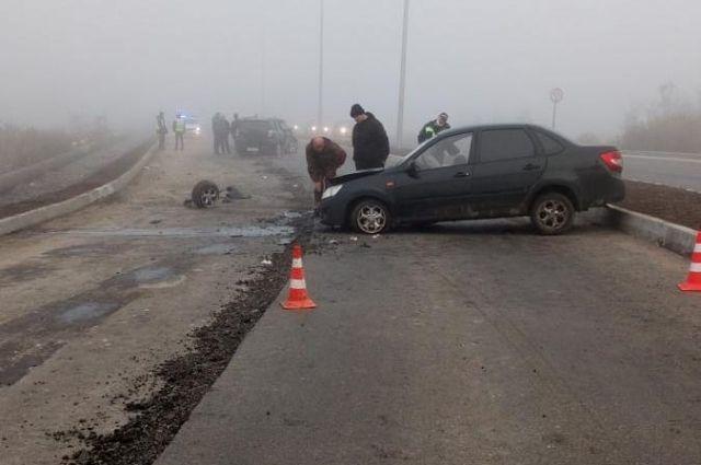 В результате ДТП пострадал 47-летний пассажир иномарки.