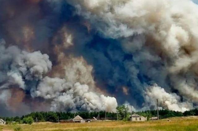 Луганская область в огне. Девять погибших, нагорело на семь уголовных дел